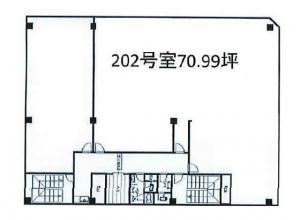 ノース四ツ橋ビル202号室間取り図