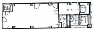 BB第一ビル基準階間取り図