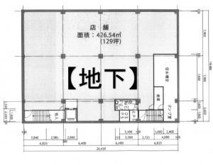 TESLA158(テスラ158)地下階間取り図