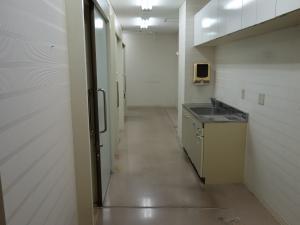 堂島クロスウォーク4階室内
