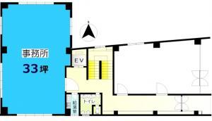 交徳ビル101号室間取り図
