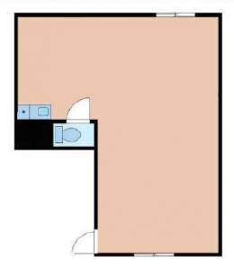TAKAKIビル(タカキビル)3階間取り図