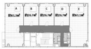 RE-008基準階間取り図
