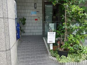 大阪文化会館ビルエントランス