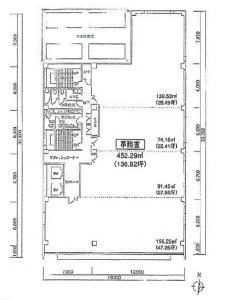 MPR新大阪ビル基準階間取り図
