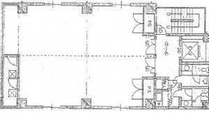 カクタスビル基準階間取り図
