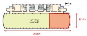 中之島三井ビルディング17階間取り図