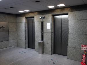 自重堂ビルエレベーター
