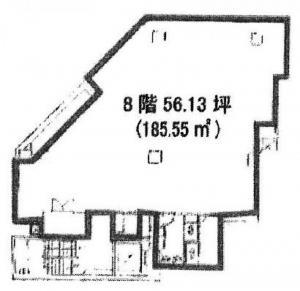 東亜ビル8階間取り図