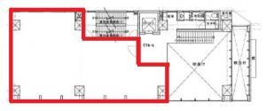 IMABASHI GATE PLACE2階間取り図