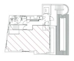 富士ビルフォレスト基準階間取り図