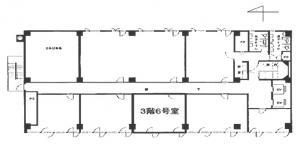 竹澤ビル3階間取り図