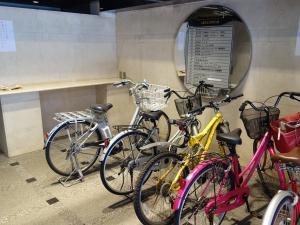 六甲桜川ビル駐輪スペース