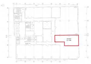 創建御堂筋ビル7階間取り図