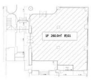 千歳第2ビル1階間取り図