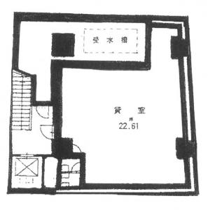 曽根崎東ビル地下1階間取り図
