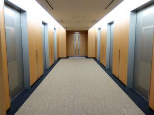 なんばパークスタワービルエレベーターホール