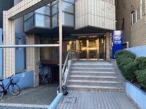 江坂ビジネスゾーンビルエントランス