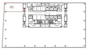 大阪富国生命ビル14階間取り図