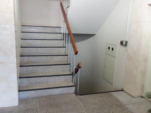 梅田エステートビル階段