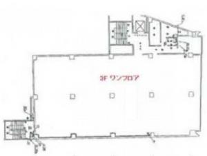 新日本ビル基準階間取り図