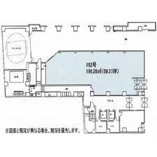 本町コラボビル1階間取り図