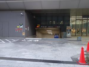 明治安田生命大阪御堂筋(ランドアクシスタワー)ビル駐車場