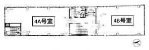 フクエイビル4階間取り図
