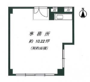 新大阪和光ビル基準階間取り図