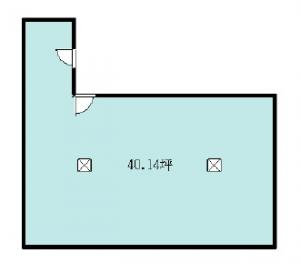 新大阪ビルディング13階間取り図