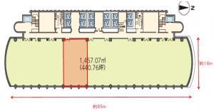 中之島三井ビルディング14階間取り図