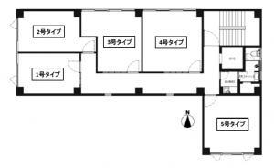 RE-017基準階間取り図