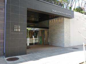 大阪国際ビルディングエントランス