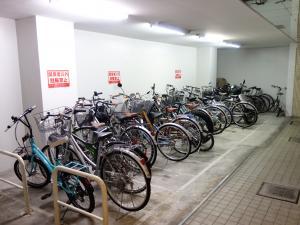 ルート船場ビル駐輪スペース