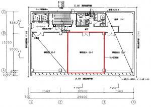 フジヒサFJ中之島ビル11階間取り図