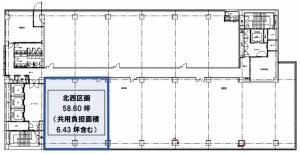 ABC-MART梅田ビル7階間取り図