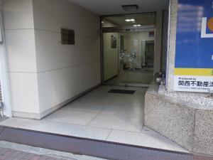 TATSUMI福島ビルエントランス