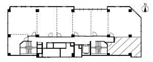 八千代ビル別館A号室間取り図