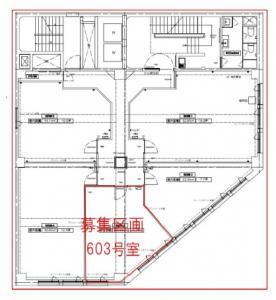 国道ビル~ラ・オカシオン~6階間取り図