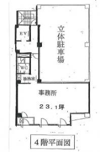 北新町センタービル基準階間取り図