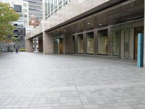 堂島アバンザビルエントランス