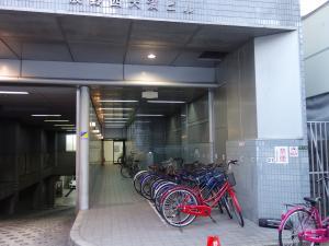 辰野西天満ビル駐輪スペース
