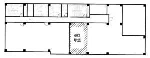 NK谷町ビル6階間取り図