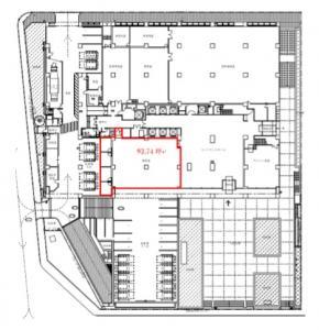 東洋紡ビル1階間取り図