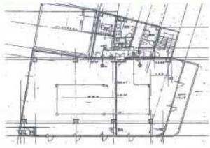 セントラル70ビル基準階間取り図