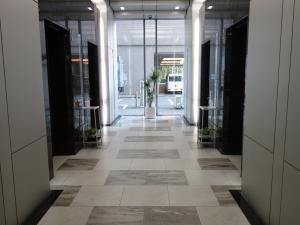 中之島インテスビルエレベーターホール