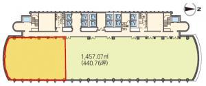 中之島三井ビルディング16階間取り図