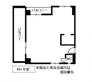 4階間取り図