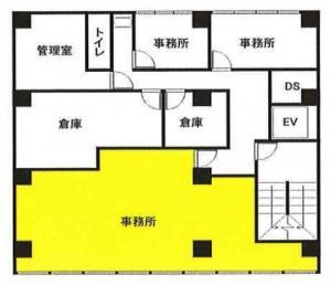 野村ビル2階間取り図