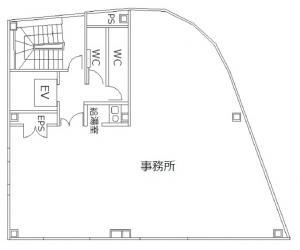 梅田二丁目阪神ビル(梅田2丁目阪神ビル)基準階間取り図